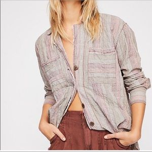 Free People Button Down XS